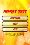 Memory Test screenshot 1/6