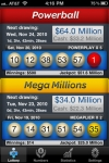 Lotto Pro - PowerBall & Mega Millions Lottery Results screenshot 1/1
