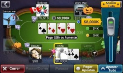 Texas HoldEm Poker Deluxe BR screenshot 2/6