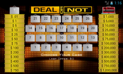Deal or No Deal Pro screenshot 2/4