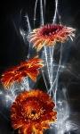 Flowers Glow Live Wallpaper screenshot 1/3