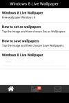 Windows 8 Live Wallpaper Free screenshot 2/5