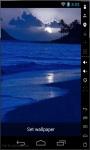 Blue Sunset Live Wallpaper screenshot 1/2