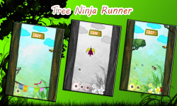 Tree Ninja Runner screenshot 2/4