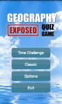 Geography Exposed Quiz screenshot 1/5