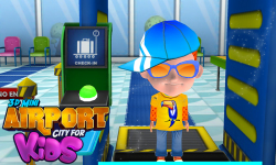 3D Mini Airport City For Kids screenshot 1/6