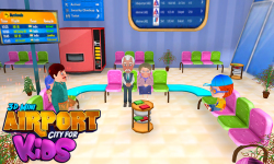 3D Mini Airport City For Kids screenshot 2/6