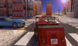 Christmas 3D Santa Car Parking screenshot 2/2