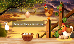 Catch the Eggs Game  screenshot 2/3