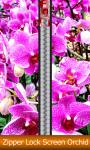 Zipper Lock Screen Orchid screenshot 1/6