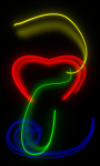 Neon love live-wallpaper screenshot 1/6