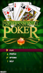 Professional poker Lite screenshot 2/4
