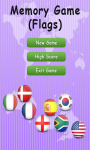 Memory Game Flags - Free screenshot 1/3