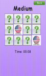 Memory Game Flags - Free screenshot 3/3