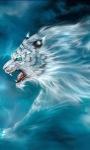 Blue Tiger Winds LWP screenshot 2/3