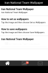 Iran National Team Wallpaper screenshot 2/5