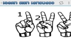 Sign language for beginners screenshot 1/3