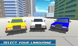 City Limo Driver Simulator 3D screenshot 1/4