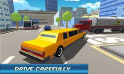 City Limo Driver Simulator 3D screenshot 2/4