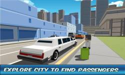 City Limo Driver Simulator 3D screenshot 3/4