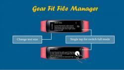 Gear Fit File Manager final screenshot 5/5