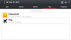 Urlaubsplan secure screenshot 2/6