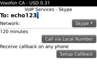 Voxofon International Calling and Texting screenshot 2/4