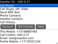 Voxofon International Calling and Texting screenshot 3/4