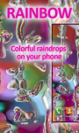 Rainbow Drops Live Wallpaper Free screenshot 1/4