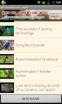 Bird sounds and videos screenshot 5/5