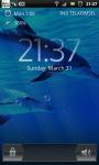 Underwater Swimming Dolphin Live Wallpaper screenshot 2/6