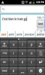 CleverTexting Francais IME screenshot 1/4