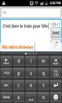 CleverTexting Francais IME screenshot 2/4
