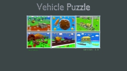 Cartoon Vehicle Puzzle screenshot 1/3