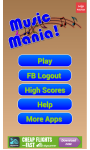 Music Mania Word Game screenshot 1/4