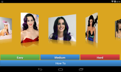 Katy Perry jigsaw puzzle game screenshot 1/4