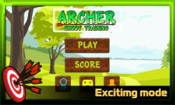 Archer Shoot Training screenshot 1/3