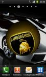 Lamborghini 3D Logo Live Wallpaper screenshot 2/6