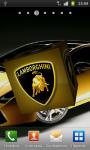 Lamborghini 3D Logo Live Wallpaper screenshot 3/6