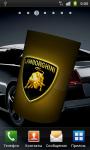Lamborghini 3D Logo Live Wallpaper screenshot 4/6