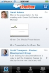 Salesforce Chatter screenshot 1/1