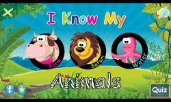 I Know My Animals- iOS screenshot 1/3