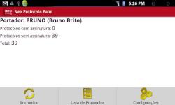 Neo Protocolo Palm screenshot 1/3