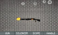 World War Walking Dead Shotgun Builder 3D - Free screenshot 3/3