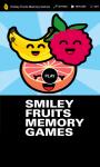 Smiley Fruit Memory Games 2 screenshot 1/6