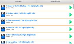 Naruto Battles HD screenshot 1/3