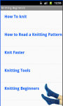 Knitting For Beginners screenshot 3/4