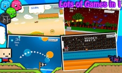 PLAYCADE 11 Mini Kill Time Game Doodle Racing screenshot 1/3