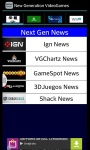 Video Games Next Gen News screenshot 1/1