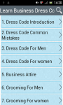 Learn Business Dress Code screenshot 1/3